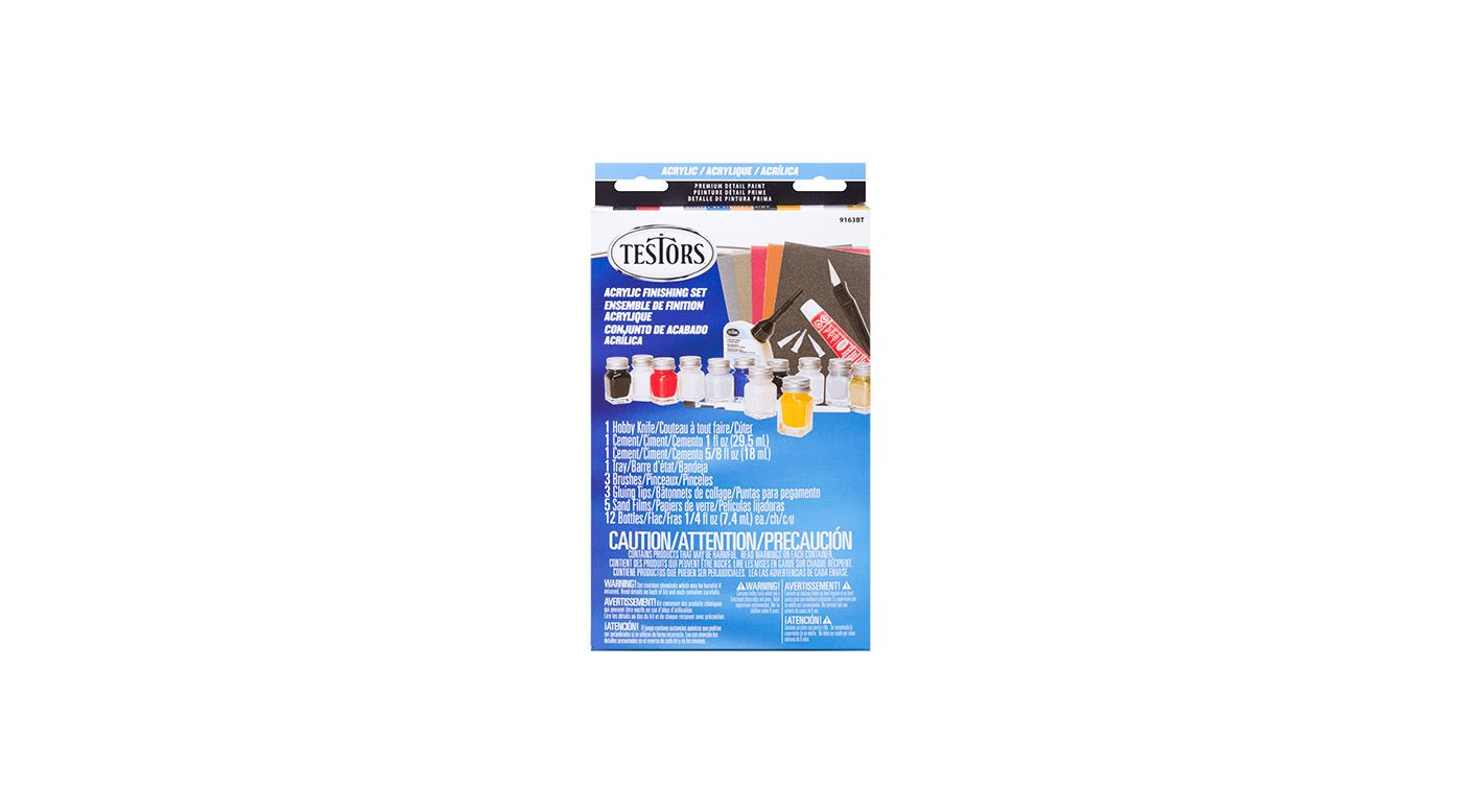 Image for Acrylic Paint Finishing Kit from HorizonHobby