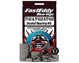 FastEddy Bearings - Sealed Bearing Kit: Tamiya TT-01 Chassis
