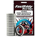 FastEddy Bearings - 12x18x4 Rubber Sealed Bearing, 6701-2RS (10)