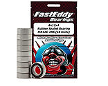 FastEddy Bearings - 6x12x4 Rubber Sealed Bearing, MR126-2RS (10)