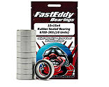 FastEddy Bearings - 10x15x4 Rubber Sealed Bearing, 6700-2RS (10)