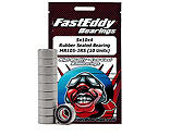FastEddy Bearings - 5x10x4 Rubber Sealed Bearing, MR105-2RS (10)