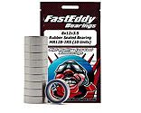 FastEddy Bearings - 8x12x3.5 Rubber Sealed Bearing, MR128-2RS (10)