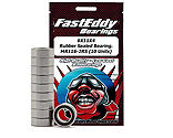 FastEddy Bearings - 6x11x4 Rubber Sealed Bearing, MR116-2RS (10)