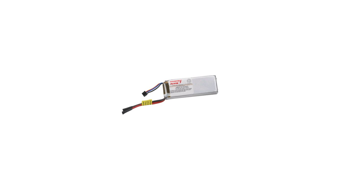 Image for 2100mAh 3 Cell 11.1V LiPo, 16 Gauge from HorizonHobby