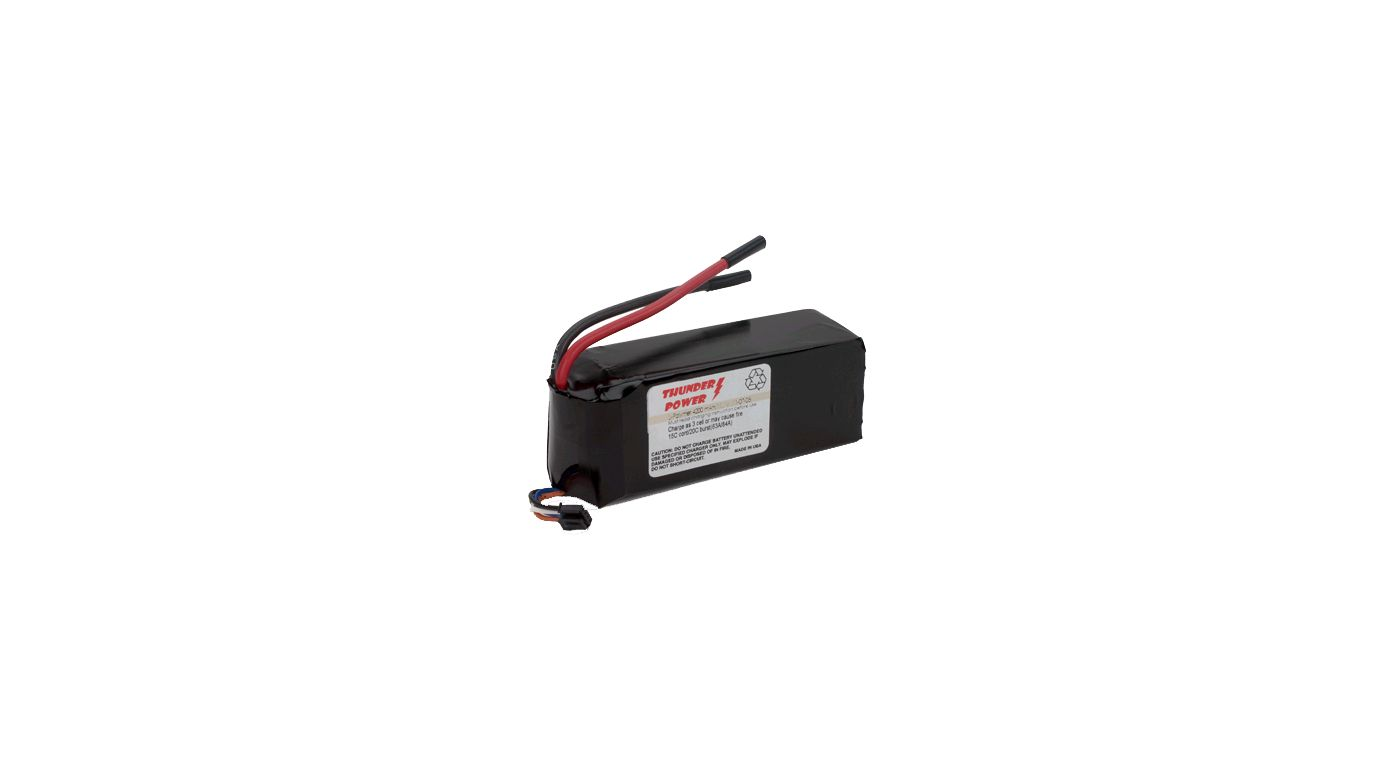 Image for 4200mAh 3S2P 11.1V LiPo, 13 Gauge from HorizonHobby