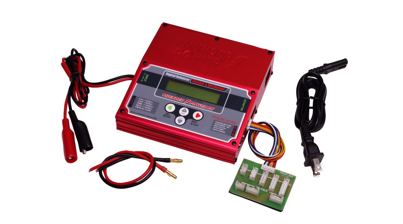 Image for TP610C-ACDC 1-6 Cell LiPo AC/DC Charger w/Balancer from HorizonHobby