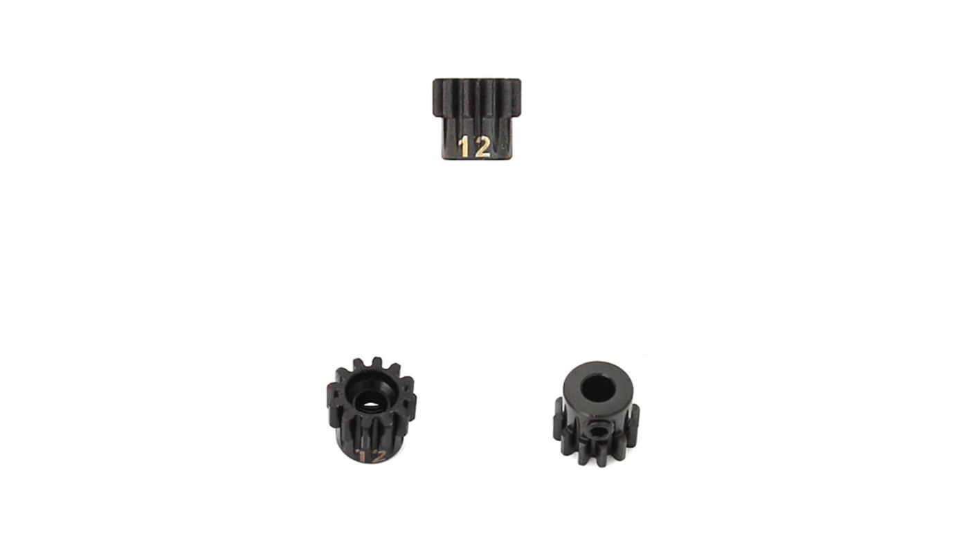 Image for M5 Pinion Gear, 12T,  MOD1, 5mm Bore, M5 Set Screw from HorizonHobby