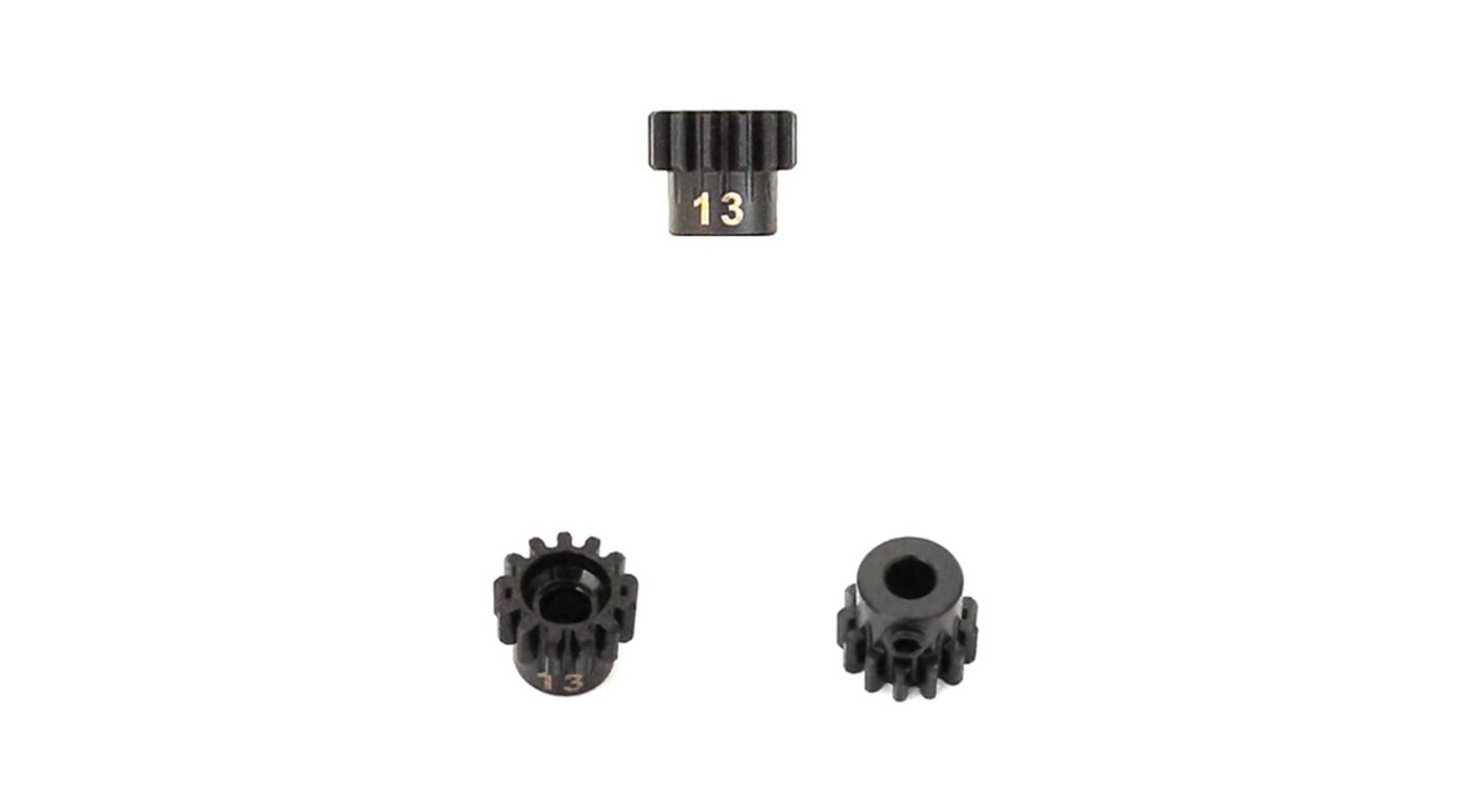 Image for M5 Pinion Gear, 13T,  MOD1, 5mm Bore, M5 Set Screw from HorizonHobby