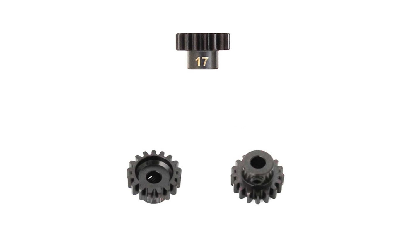 Image for M5 Pinion Gear, 17T,  MOD1, 5mm Bore, M5 Set Screw from HorizonHobby