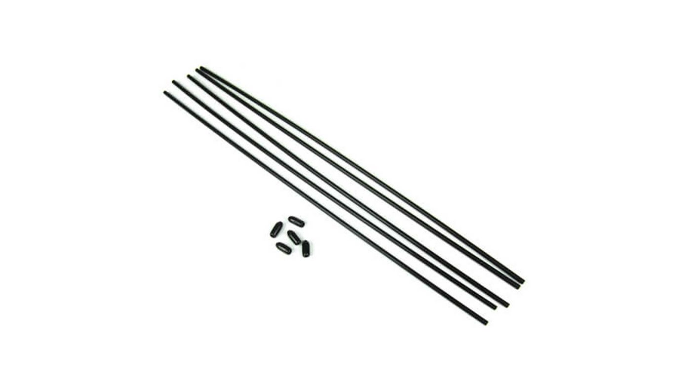 Image for Antenna Tube, Universal with Caps (5) from HorizonHobby