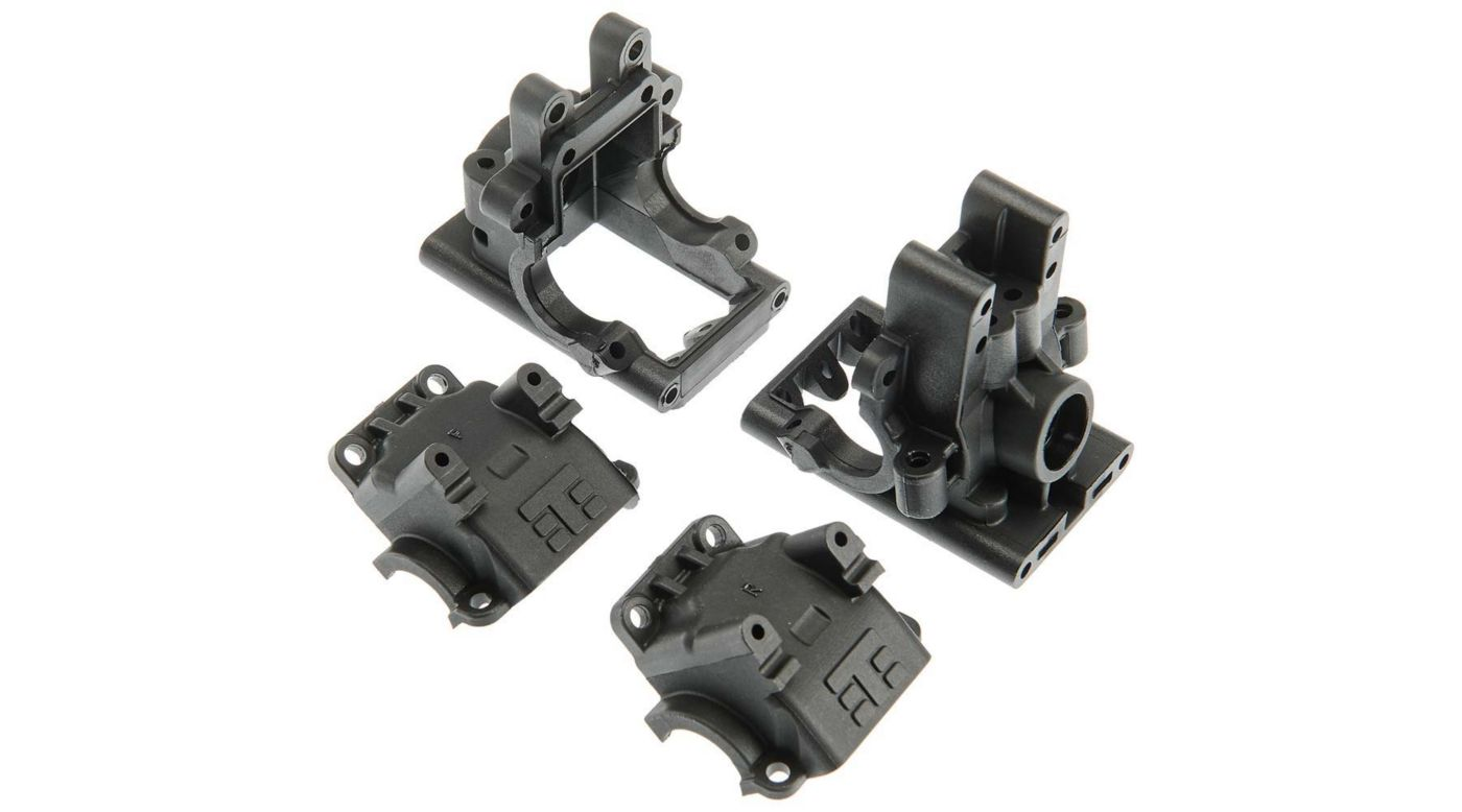 Image for Bulkhead Set, Revised, Front and Rear: EB410 from HorizonHobby