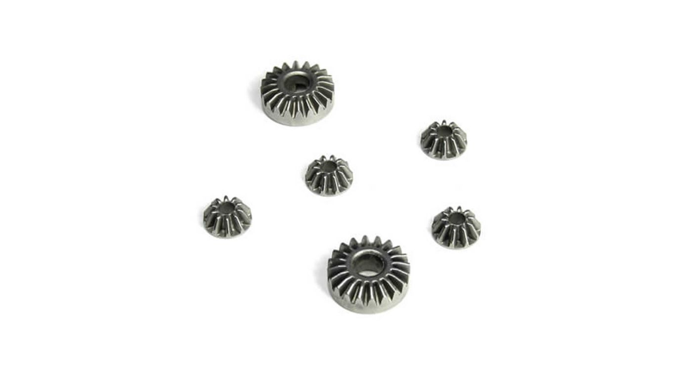 Image for Differential Gear Set, Steel (Internal Gears Only): EB410 from HorizonHobby