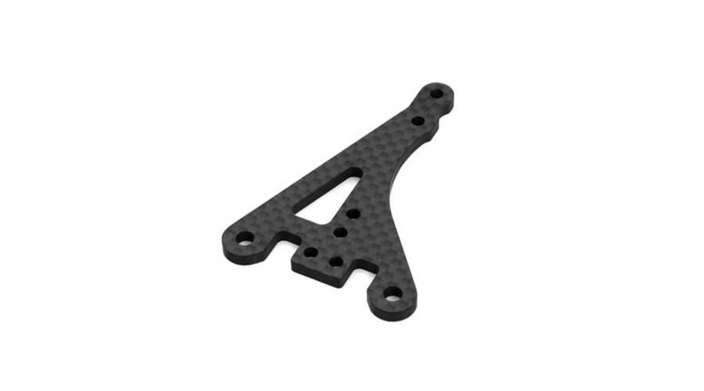 Image for Steering Top Plate, Carbon Fiber: EB410 from HorizonHobby
