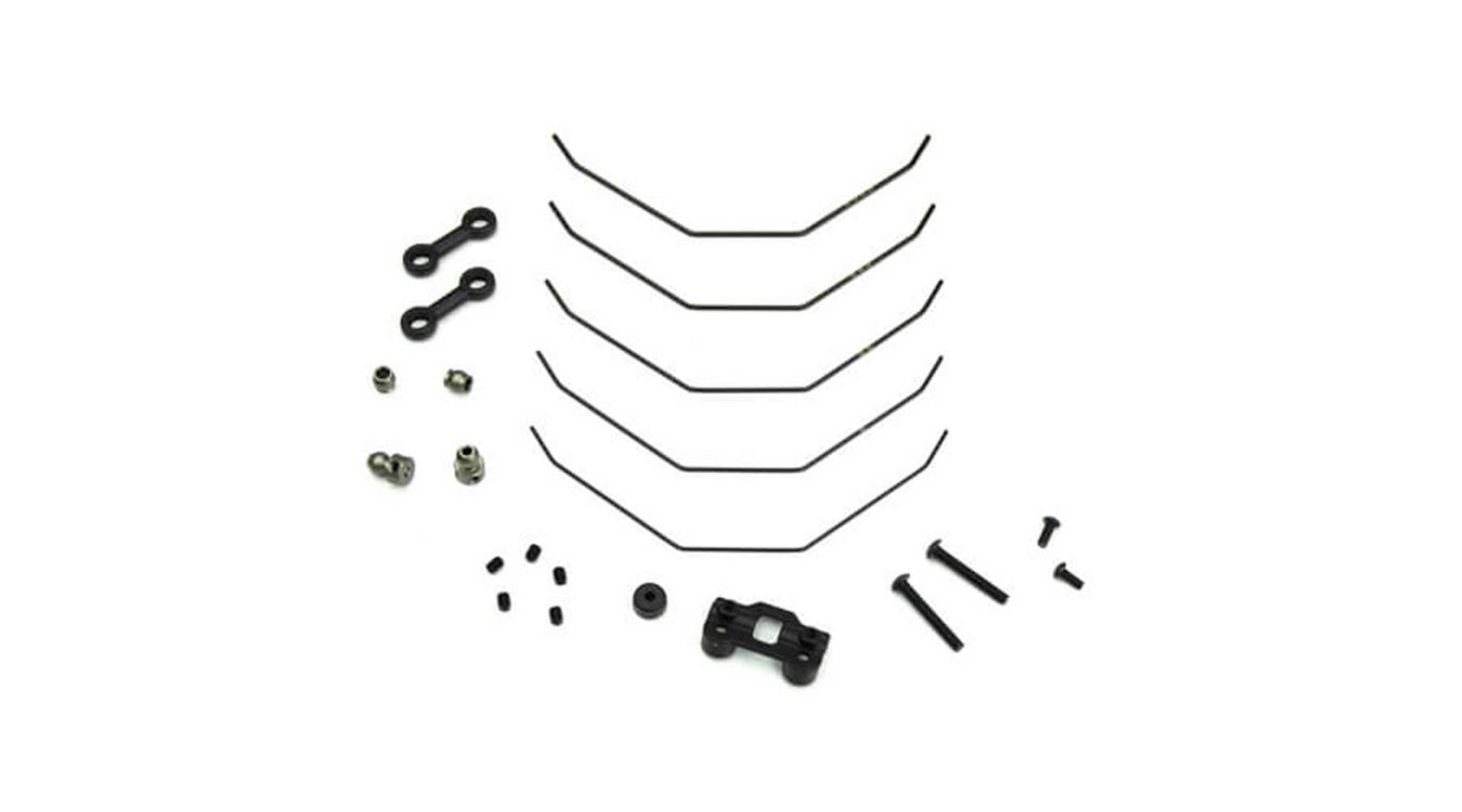 Image for Sway Bar Kit, Front, Complete 1.0-1.4mm: EB410 from HorizonHobby