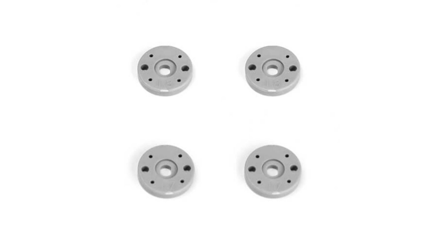 Image for Shock Piston Set, 2x1.7, 2x1.8, Flat/Flat, 13mm (4) from HorizonHobby