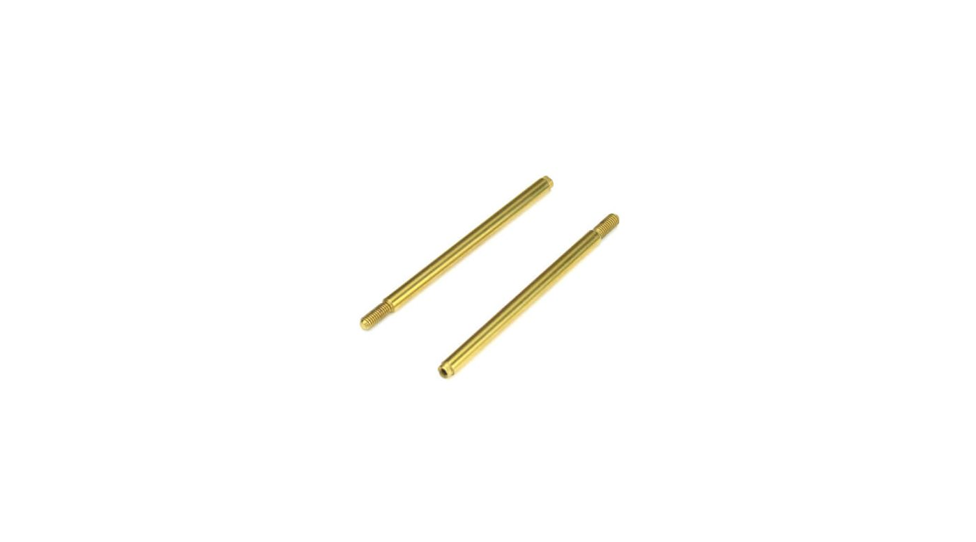 Image for Shock Shafts Rear Steel TiNi coated (2): EB410 from HorizonHobby