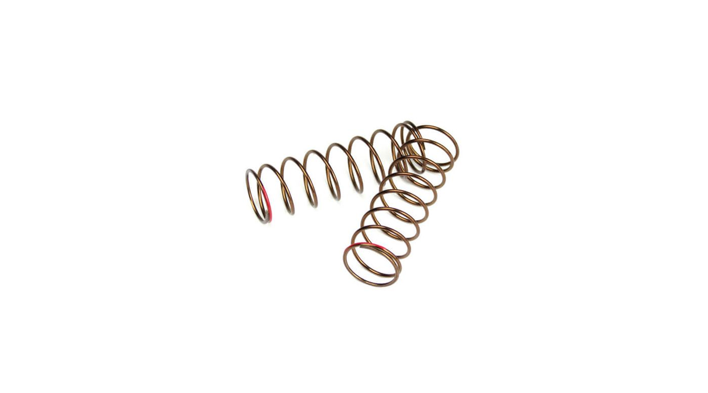 Image for Shock Spring Set Rr 1.3x8.875 3.22lb in 63mm, Red from HorizonHobby