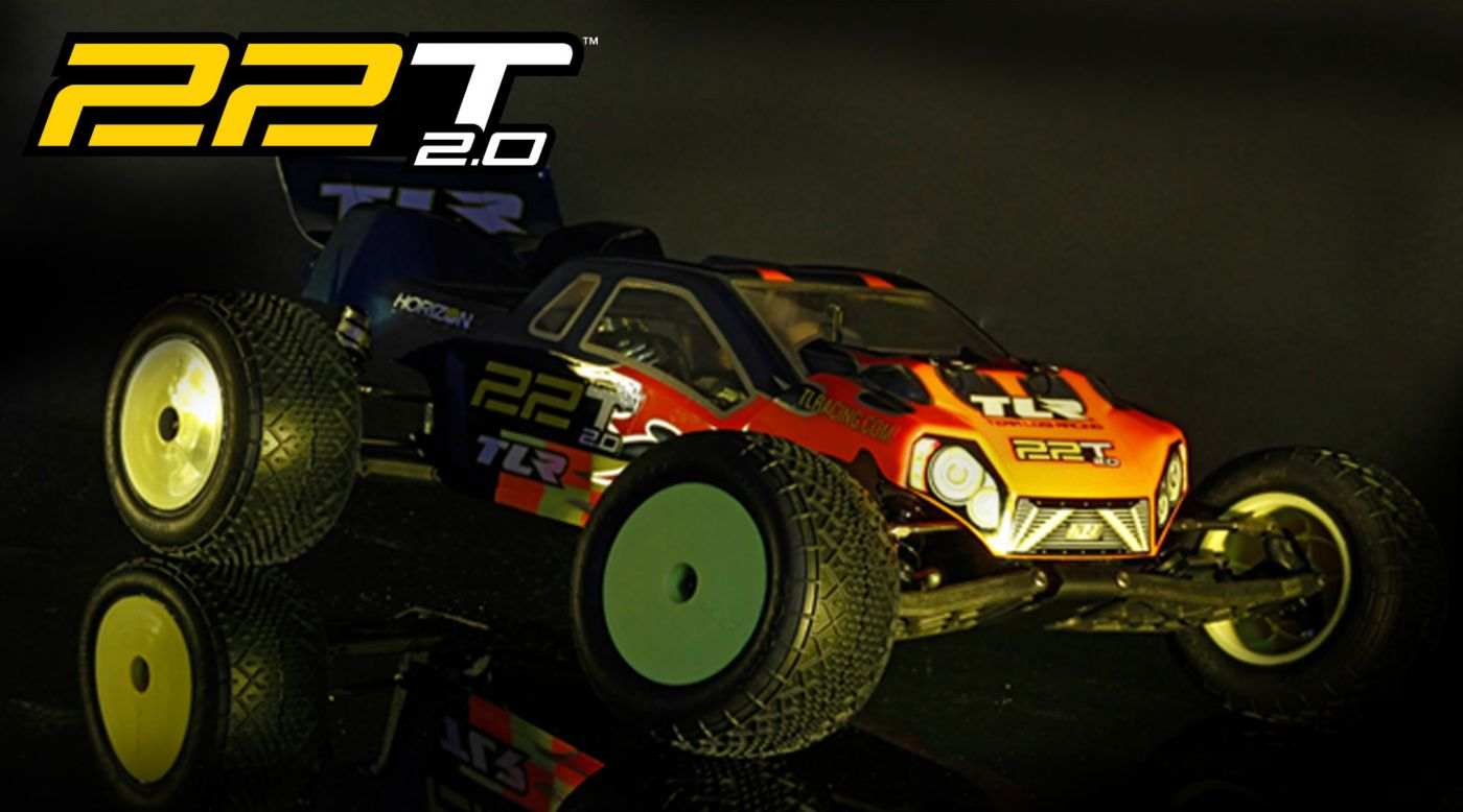 Image for 1/10 22T 2.0 2WD Stadium Truck Race Kit from HorizonHobby