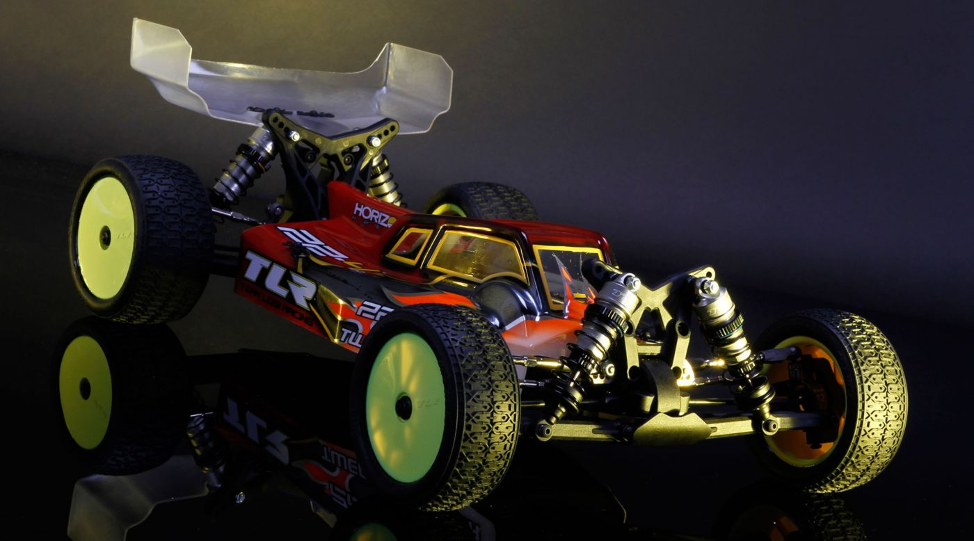 Grafik für 1/10 22-4 2.0 4WD Buggy Race Kit in Horizon Hobby