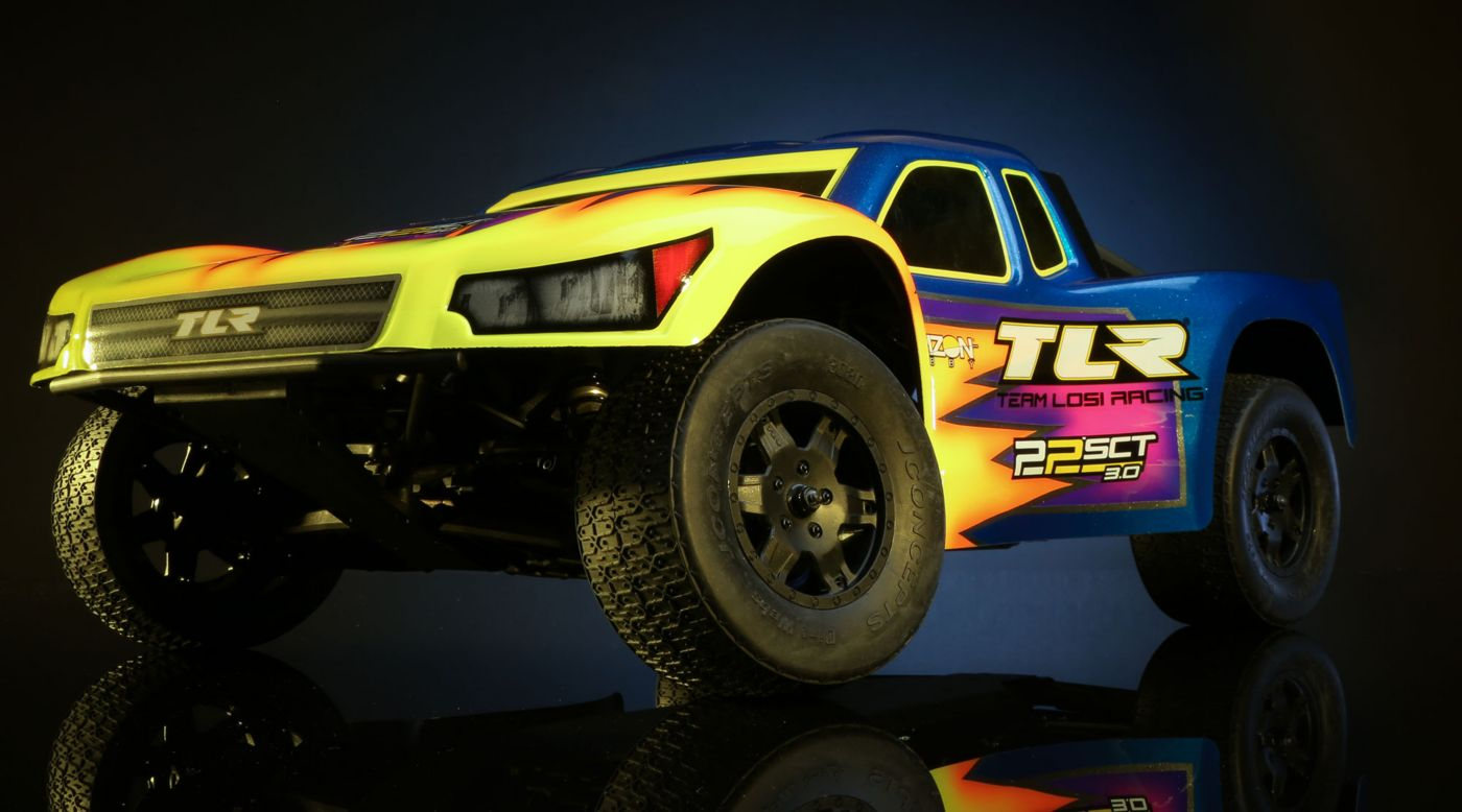Image for 1/10 22SCT 3.0 2WD Short Course Truck Race Kit from HorizonHobby