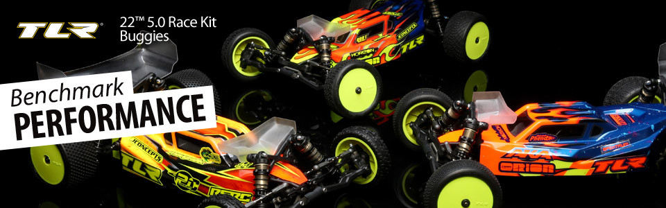 Team Losi Racing 1/10 22 5 0 2WD Buggy AC Race Kit, Astro