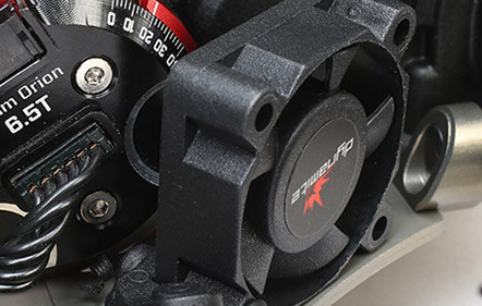 Built-In Motor Fan Mount