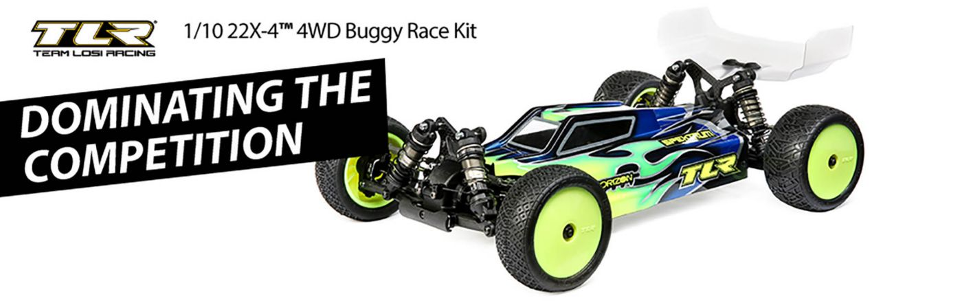 TLR<sup>®</sup> 1/10 22X-4 Race Buggy Kit