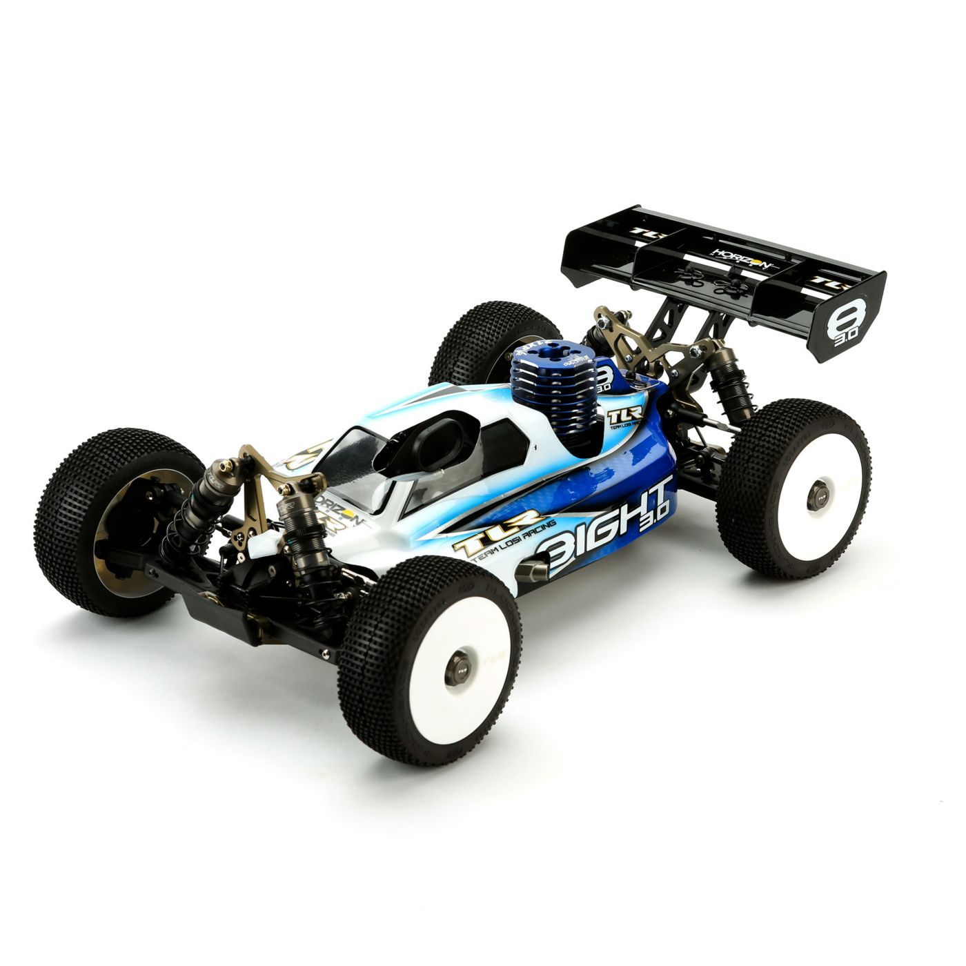 Team Losi Racing 1 8 8ight 3 0 4wd Nitro Buggy Kit 2014 Rc