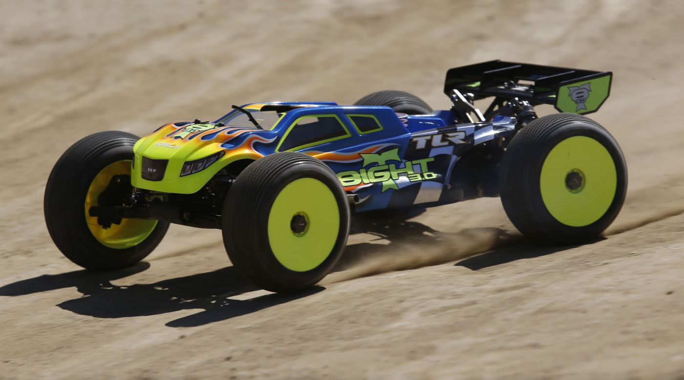 Image for 1/8 8IGHT-T 3.0 4WD Nitro Truggy Race Kit from HorizonHobby