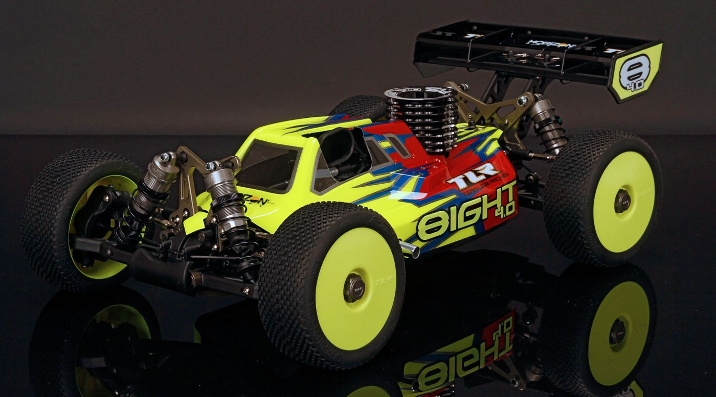 Image for 1/8 8IGHT 4.0 4WD Nitro Buggy Race Kit from HorizonHobby