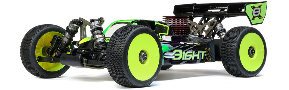 1/8 8IGHT-X 4WD Nitro Buggy Race Kit