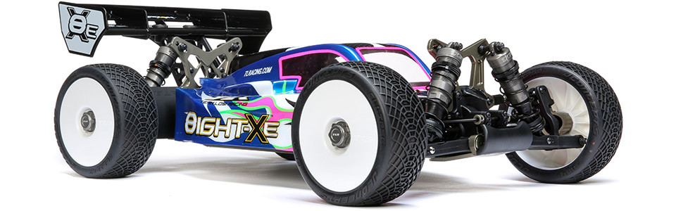 8X-E Race Kit: 1/8 4WD Elec Buggy
