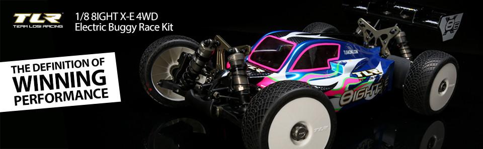 8XE Race Kit: 1/8 4WD Elec Buggy