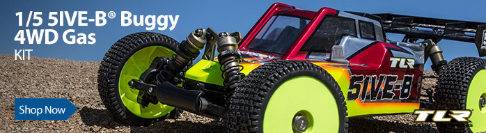Team Losi Racing 1/5 5IVE-B 4WD Gas Buggy Race Kit