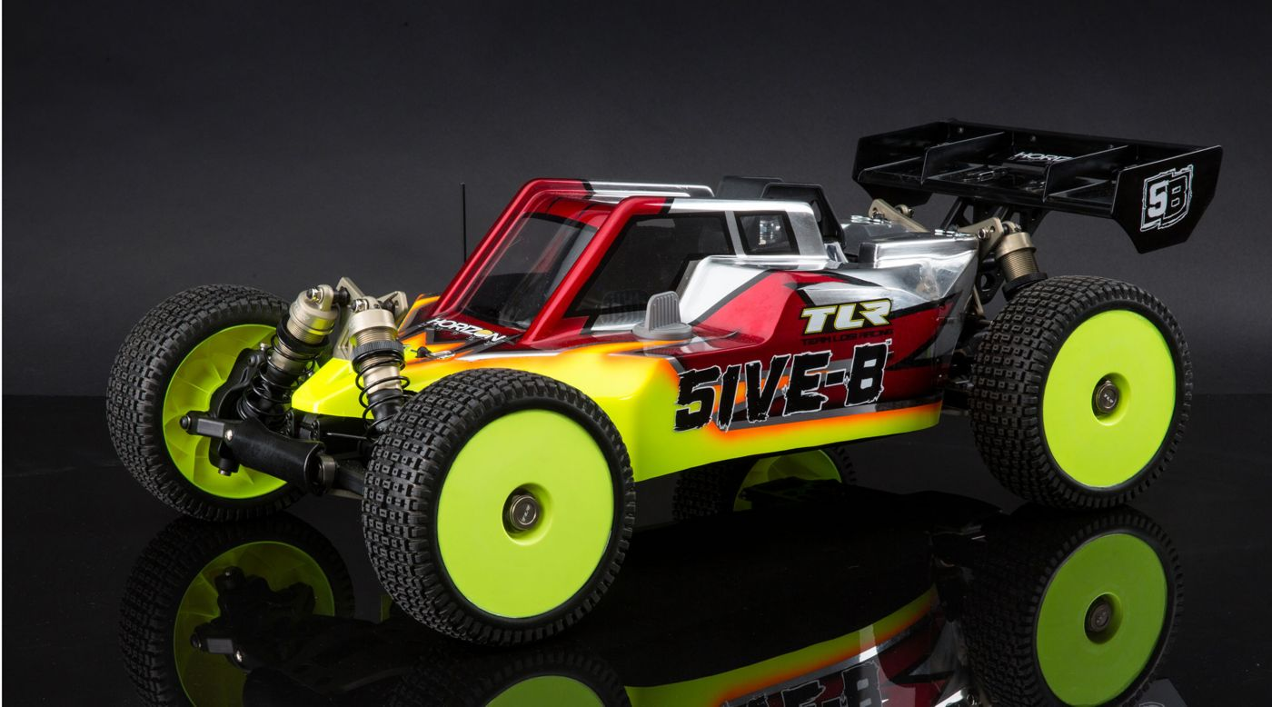 Image for 1/5 5IVE-B 4WD Gas Buggy Race Kit from HorizonHobby