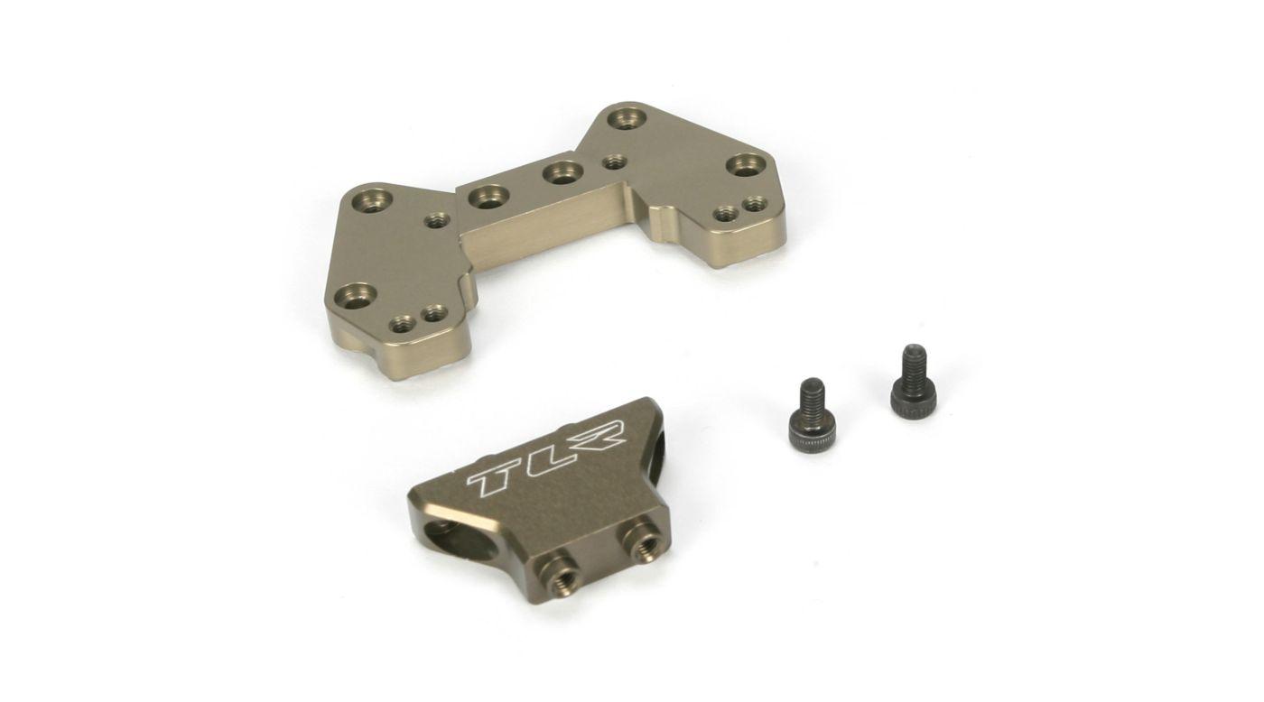 Image for Rear Camber Block, Mid Motor, Aluminum, 22/22T from HorizonHobby