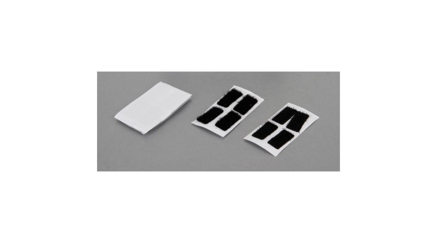 Image for Hook and Loop Body Mounting, 10 x 20mm: (8) from Horizon Hobby