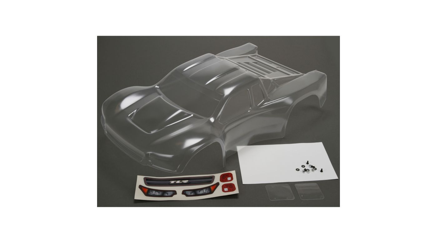 Image for Body Set, Clear with Stickers: 22SCTE 2.0 from HorizonHobby