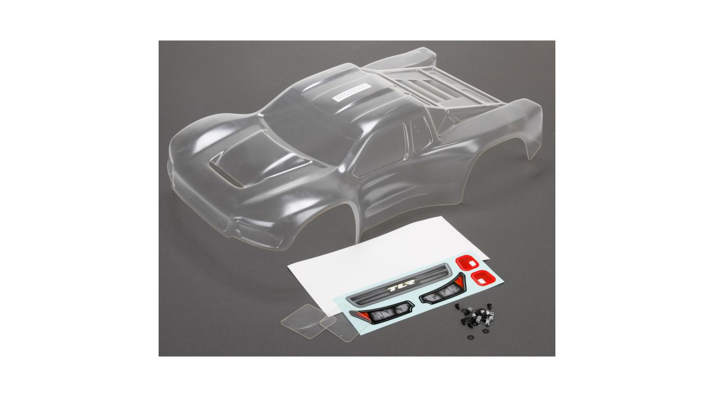 Image for Body Set, Pre-Cut, Clear with Stickers: 22SCT 2.0 from HorizonHobby