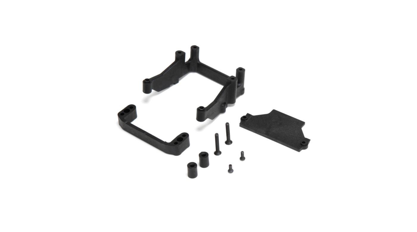 Image for Rear Battery Tray, Mount, Rear Motor: 22, 2.0, T, SCT from HorizonHobby