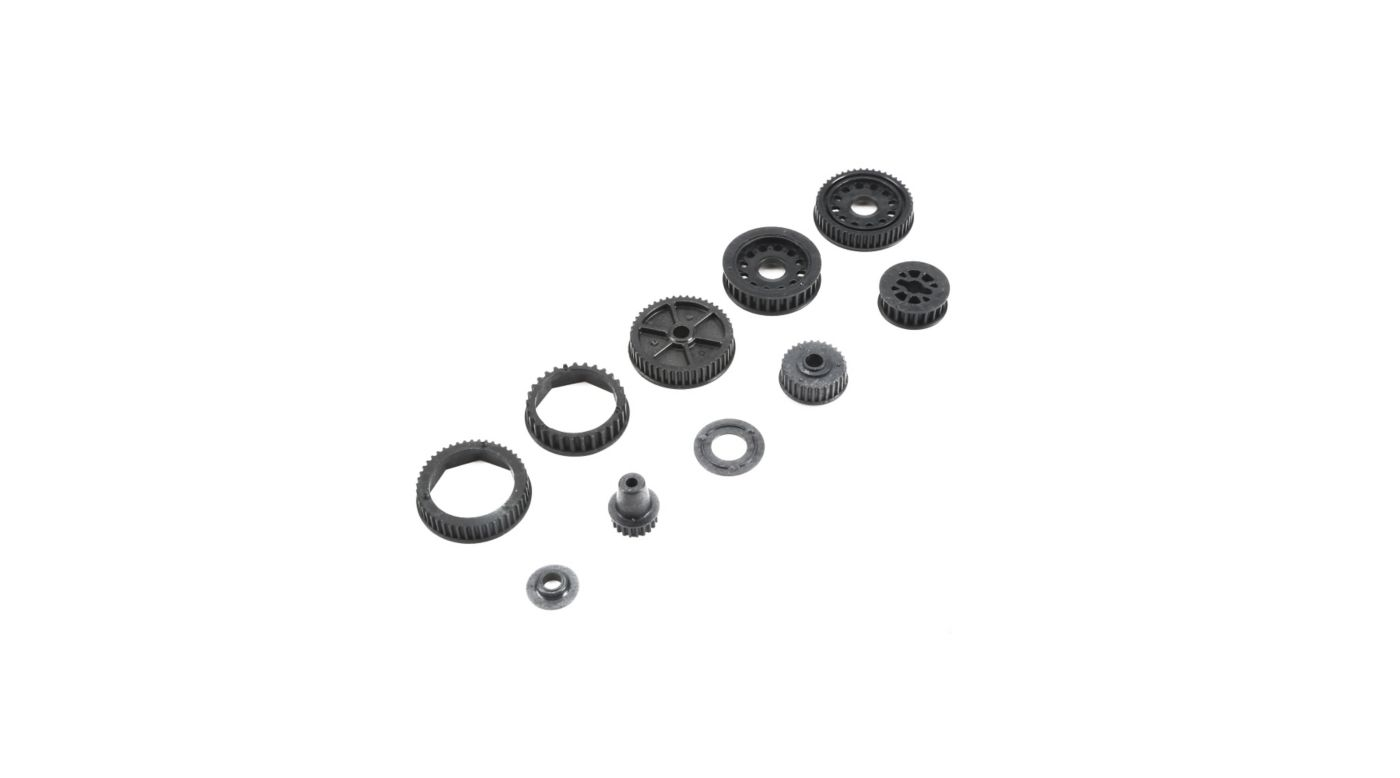 Image for Drive and Differential Pulley Set: 22-4/2.0 from HorizonHobby