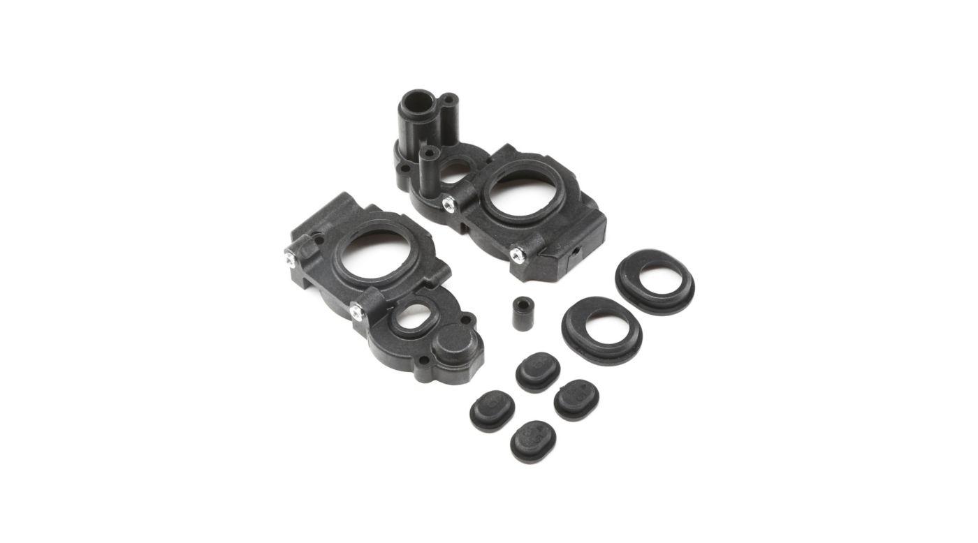 Image for Gear Case Set 3-Gear Laydown  22 4.0 from HorizonHobby