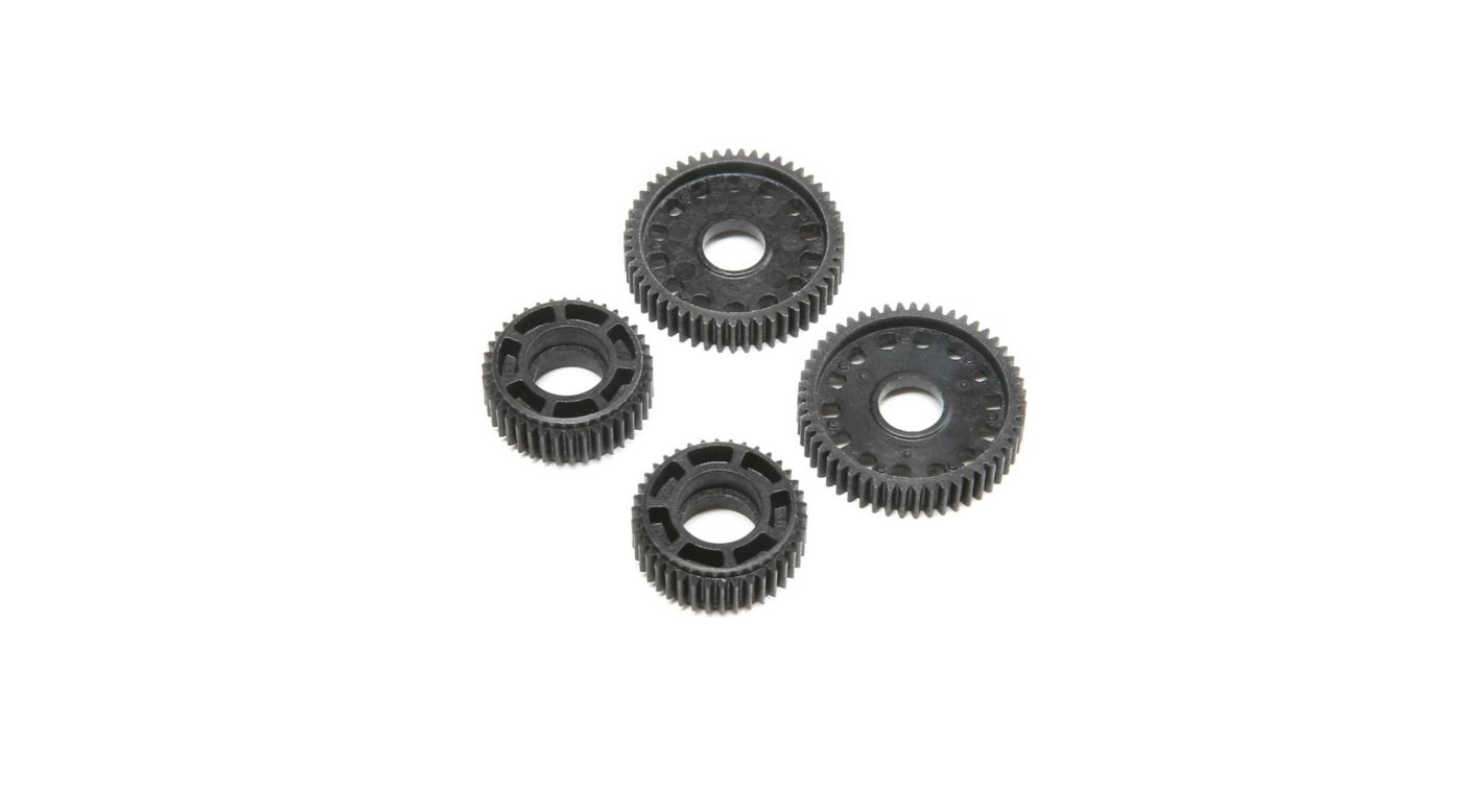 Image for Narrow Gear Set, Laydown Idler, Diff (2): 22 4.0 SR from HorizonHobby