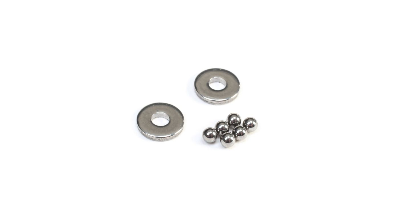 Image for Tungesten Carbide Thrust Balls & Washers: 22 from HorizonHobby