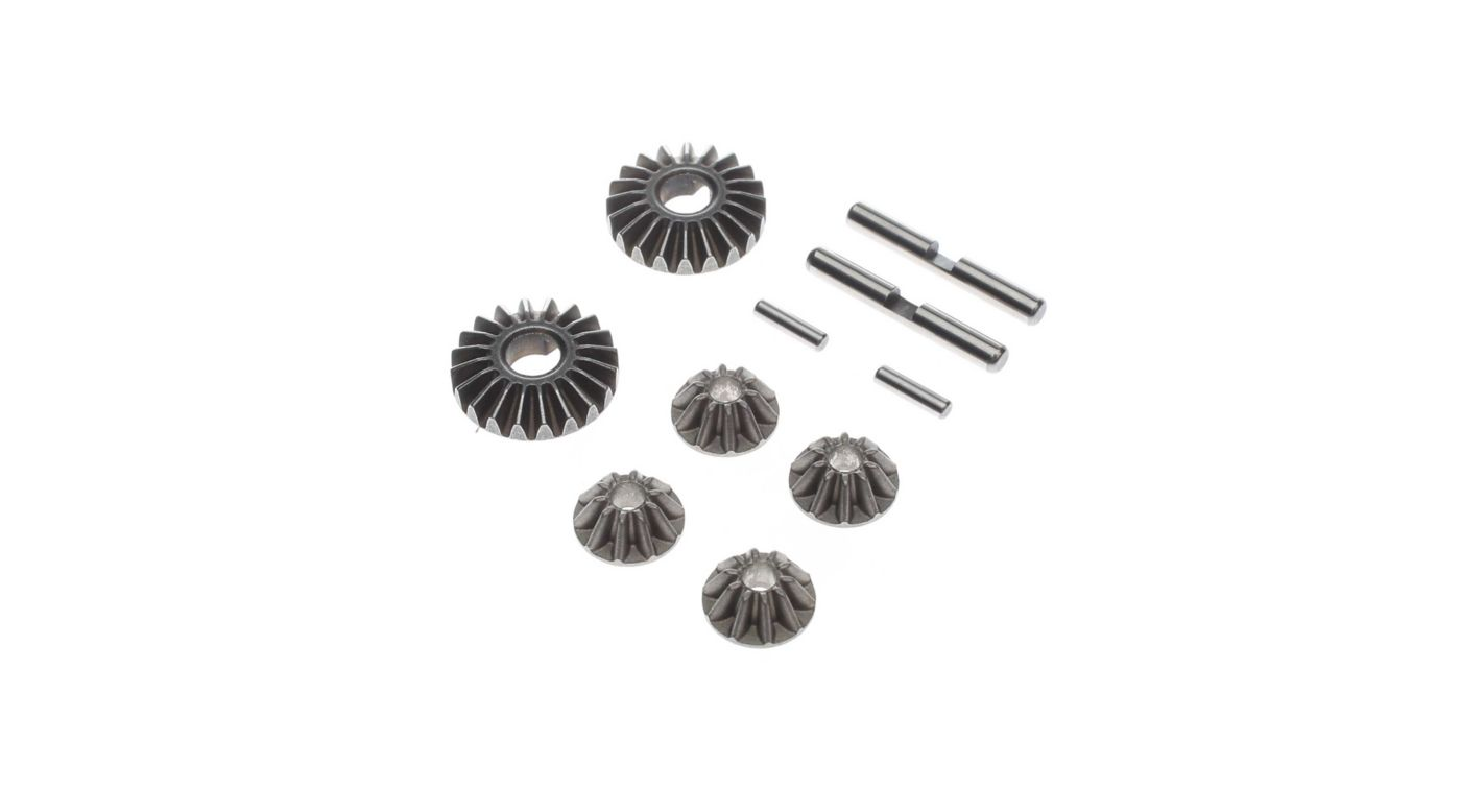 Image for Gear Set, Metal: 22 5.0 G2 Gear Diff from HorizonHobby