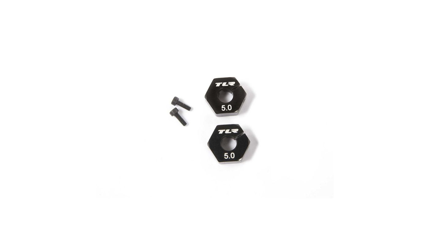 Image for Wheel Hex 12mm x 5.0mm (2) from HorizonHobby