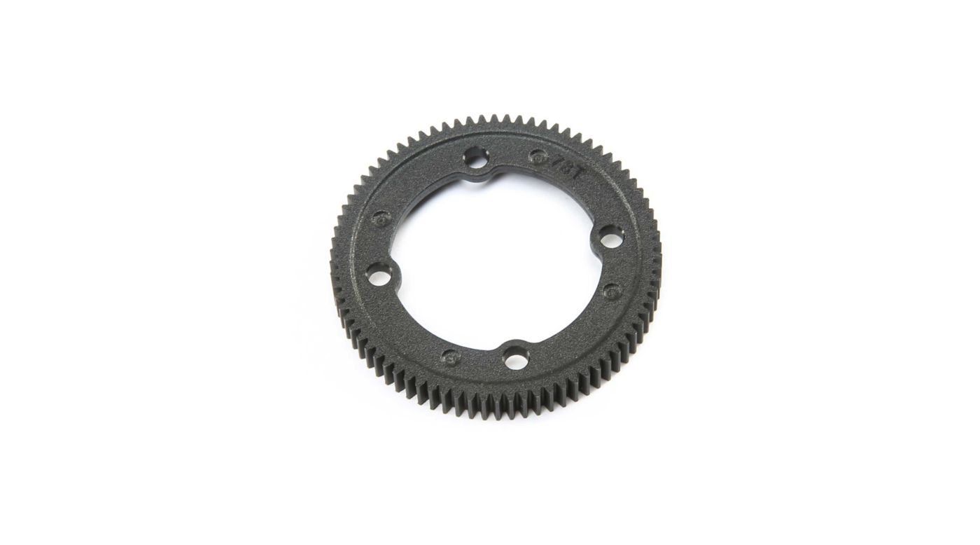 Image for 78T Spur Gear Center Diff: 22X-4 from HorizonHobby
