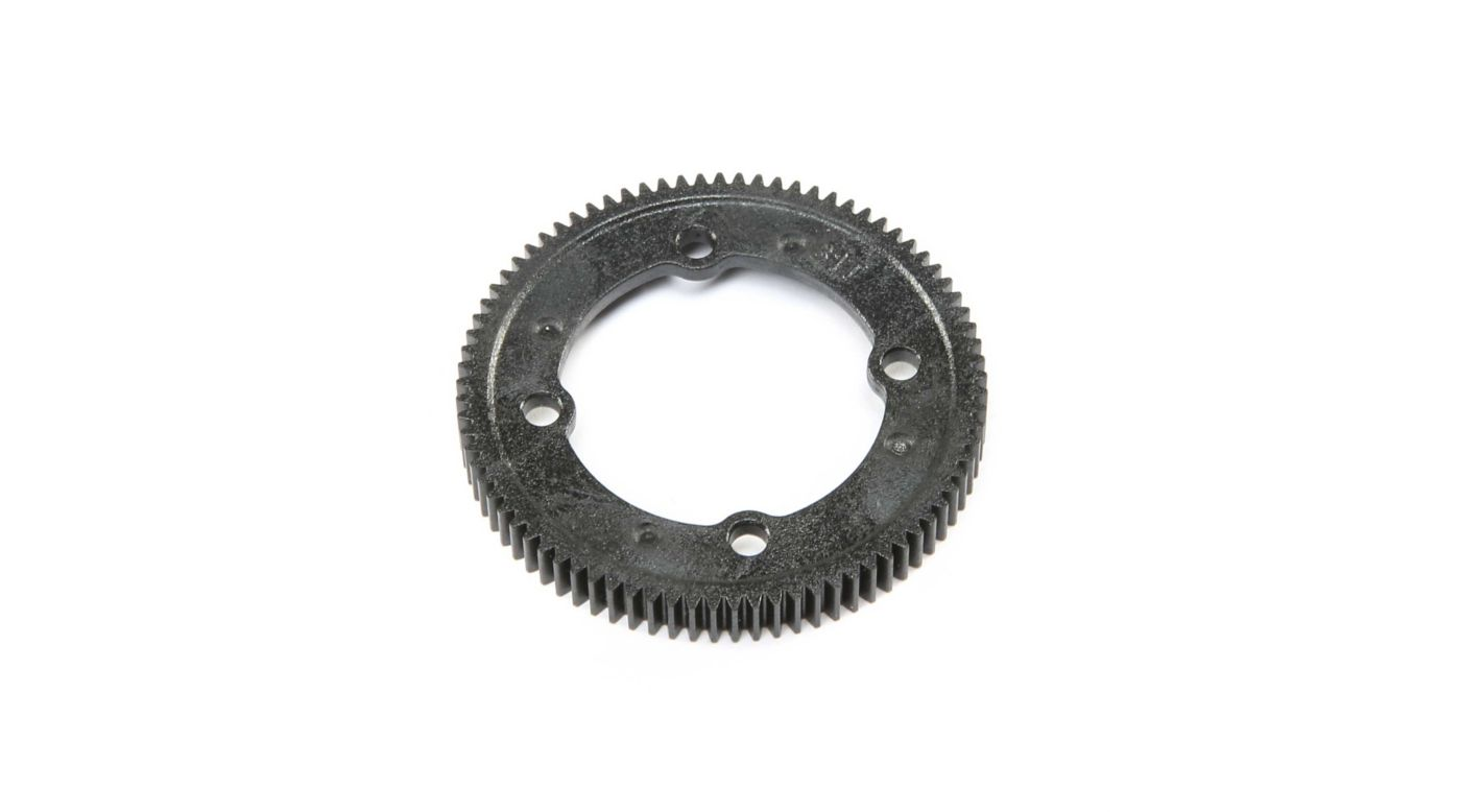 Image for 81T Spur Gear Center Diff: 22X-4 from HorizonHobby