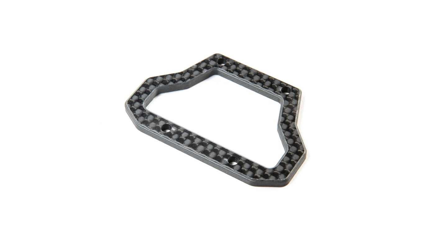 Image for Carbon Center Bulkhead Brace: 22X-4 from HorizonHobby